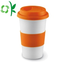 Silicone Custom Cup Sleeve for Travel Mug
