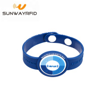 China Factories for China Pvc RFID Wristbands,Personalized Rubber Bracelets,Custom Event Wristbands Manufacturer and Supplier HF Passive 13.56MHz NFC RFID PVC Wristband Bracelet supply to Samoa Factories