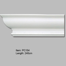 China Factories for Polyurethane Crown Moldings Polyurethane Decorative Cornice Moulding supply to Poland Importers