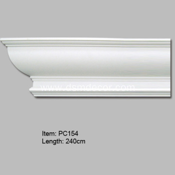 Polyurethane Decorative Cornice Moulding
