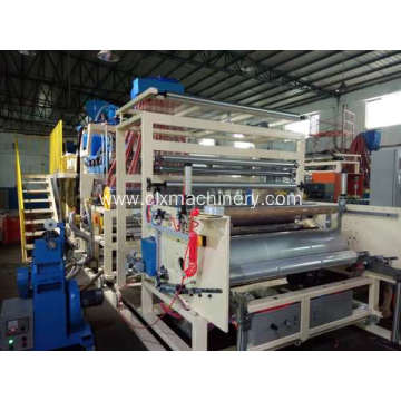 High Efficiency Factory for 1500MM Plastic Stretch Film Machine Unit PE Co-extrusion Plastic Stretch Film Machinery supply to Italy Wholesale