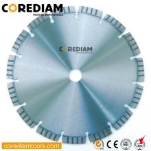 230mm laser welded turbo saw blade