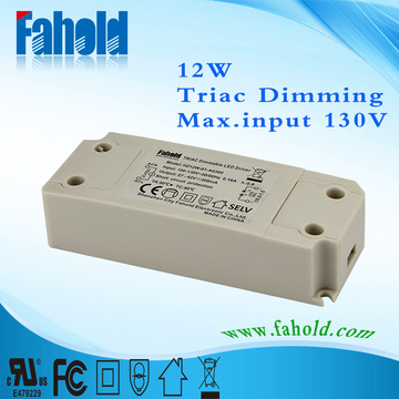 Triac Dimming 12w Led strømforsyning / Led Driver