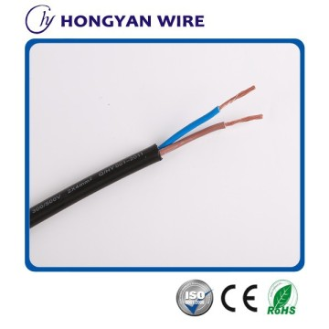 good quality 2 core cable flexible copper power cable