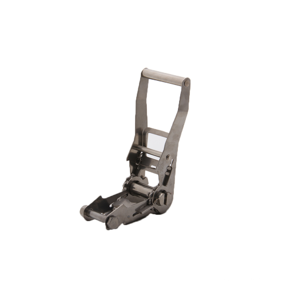 Stainless Steel Ratchet Buckle with Width 50mm
