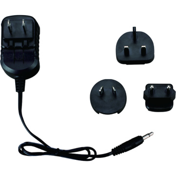 Medical Power Adapter Interchangeable Wall Adapter 6W