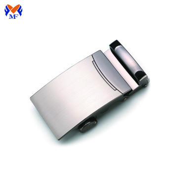 Fashion blank metal buckle with brand logo