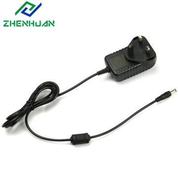 9W 9V 1A UK Plug AC DC Adapter