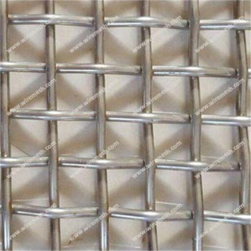 Double Crimped Screens aluminum clad steel Woven Wire