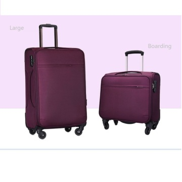 Business man travel cabin crew luggage trolley Bag