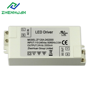 24VDC 2A 48W Single Output LED power supply