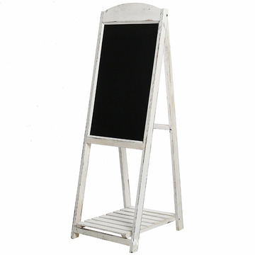 Bottom price for Chalk Boards 1/2/3 Tiers Wooden Stand Display Shelf With Blackboard export to Montenegro Wholesale