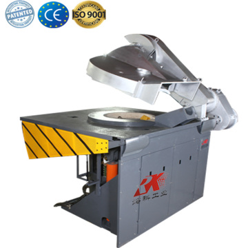 High temperature induction furnace for melting