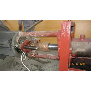 Tensioning Device For Spun Pile