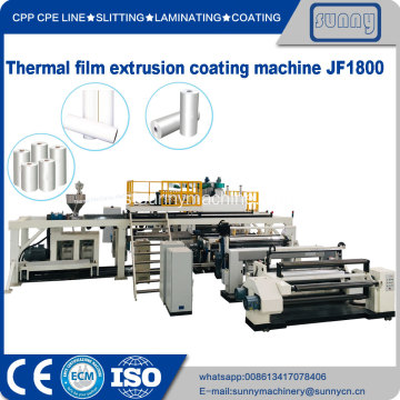 machine à plastifier par extrusion, modèle JF1800
