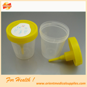 Laboratory Hospital Vacuum Urine Container