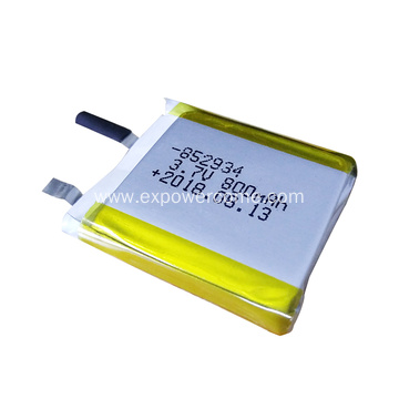 Complete in Specification 803035 3.7V 800mAh Lipo Battery