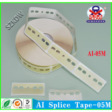 China Manufacturers for AI Five Hole Crepe Splice Tape AI Five Hole Crepe Paper Splice Tape export to Nigeria Factory