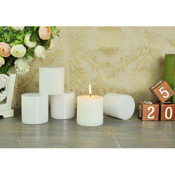 pillar candle cylindrical dinner birthday candle