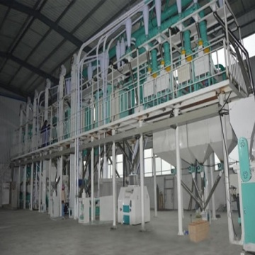 30-100TPD middle maize milling plant