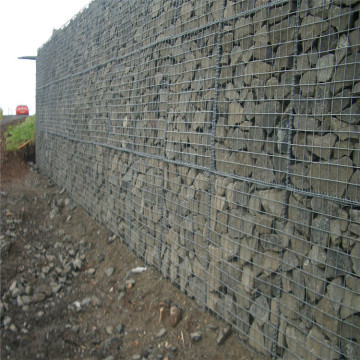 galvanized welded gabion wall