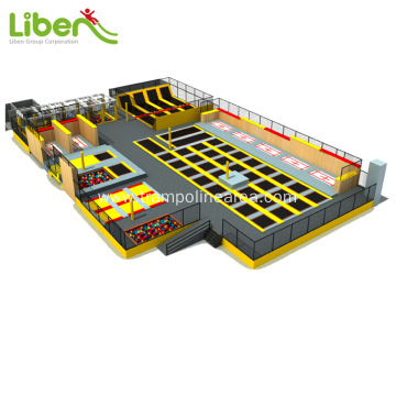 Professional exercise indoor trampoline park for USA