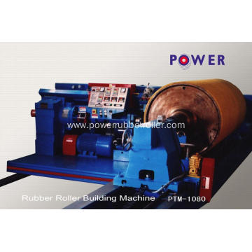 Metallurgy Industry Rubber Roll Roller Building Machine