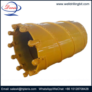 Hard formation core barrel with roller bits