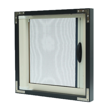 Retractable Screen window with aluminum frame 3408