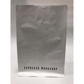 White Kraft Paper Coffee Bag