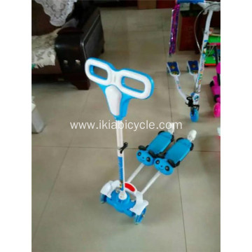Three Wheel Mini Plastic Child Scooter
