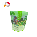 Stand-up Zipper Dry Food Bag with Bottom Gusset