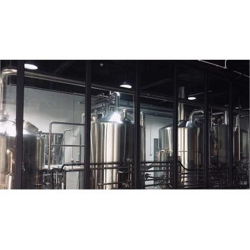 Industrial Beer Making Brewery Vessels Brewhouse