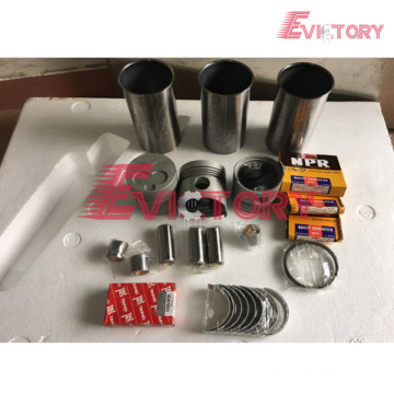 ISUZU 3AB1 rebuild overhaul kit gasket bearing piston