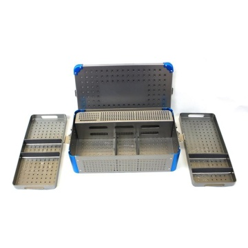 Orthopedic Medical Instrument Sterile Container Case Tray