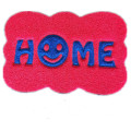 Smile face home custom shape joint mat