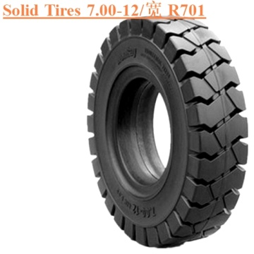 Wear Resistant Forklift Solid Tire 7.00-12 R701