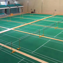 Low Cost for Badminton Court Pvc Vinyl Flooring sports floor plastic pvc floor covering supply to Belgium Supplier
