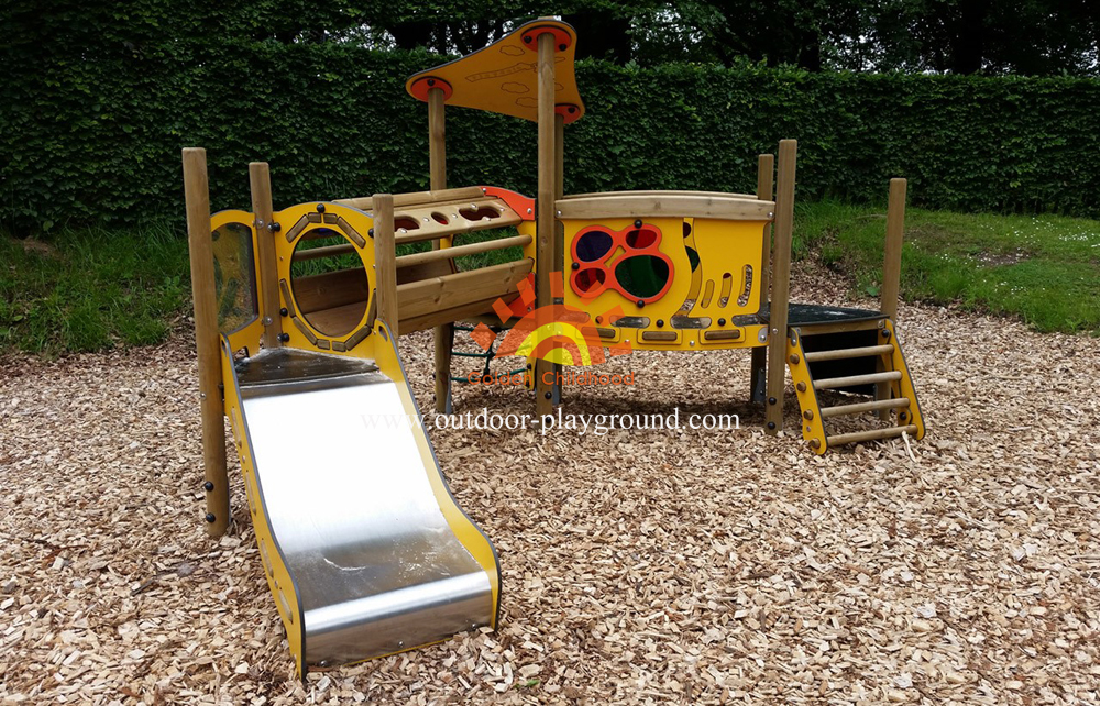 children outdoor play structures
