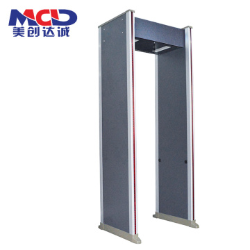 شاشة 6.0 إنش لشاشة LCD Professional Walk من خلال Door Metal Detector MCD600