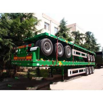 40ft Container Semi Flatbed Trailers