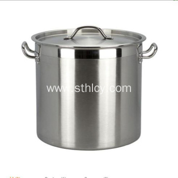 Good Quality Thickened Straight stainless steel soup pail