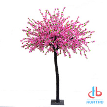 Mixed Color Artificial Peach Blossom Tree