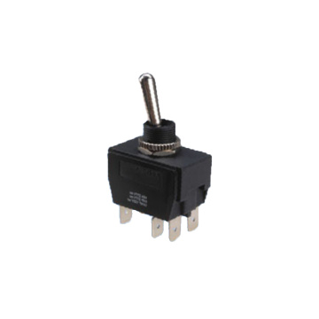 Waterproof Dustproof DPDT Toggle Switch