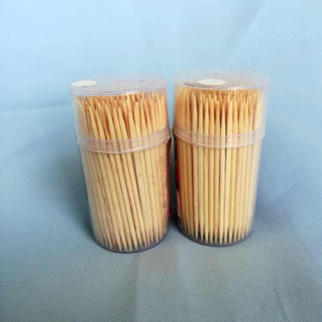 High Quality Hygienic Bamboo Toothpick Mini Bottle