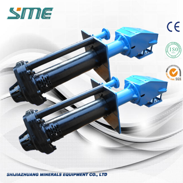Cantilever Design Rubber Sump Pump With Extended Shaft