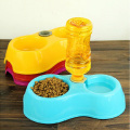 Dog Automatic Drinking Fountain Food Dish Pet Bowl