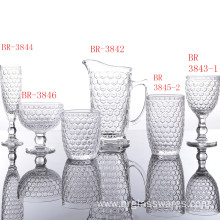 Special for Mix color Drinkware Sets Classic Honeycomb Series Glass Cup Sets supply to Poland Manufacturers