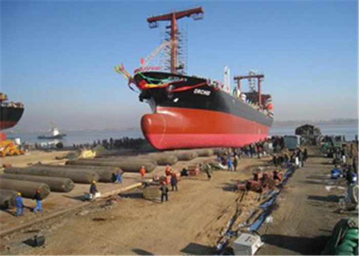 Marine Airbags Ship Launching