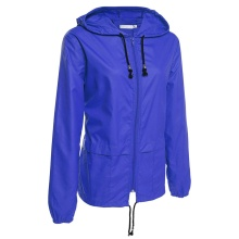 Factory directly sale for PVC Raincoat Women's Lightweight Rain Jacket Packable Hooded Raincoat export to South Korea Manufacturers